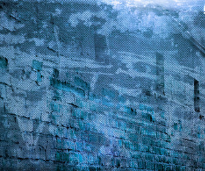 Blue Grunge Urban Wall Background