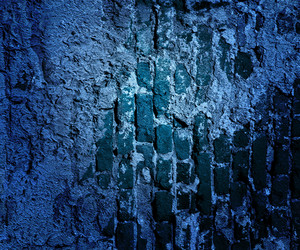 Blue Grunge Wall Texture