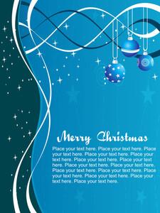 Blue Hanging Balls For Christmas