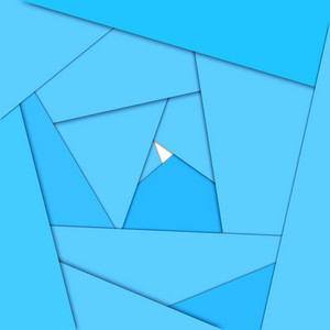 Blue maze abstract background