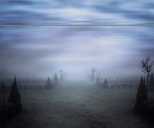 Blue Misty Background