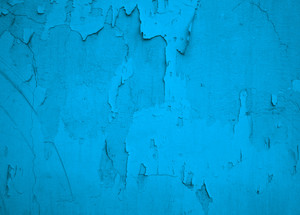 Blue Painted Grunge Texture