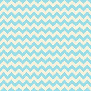 Blue Pastel Chevron Pattern
