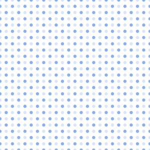 Blue Polka Dots Pattern On A White Background