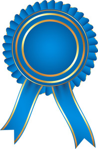 Blue Ribbon Badge
