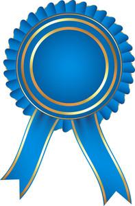 Blue Ribbon Badge