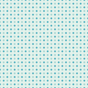 Blue Sea Polka Dots Pattern