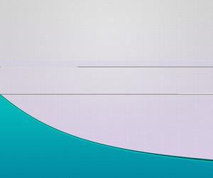 Blue Shape Simple Background