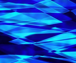 Blue Sharp Glass Texture