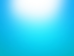 Blue Sky Sunburst Background