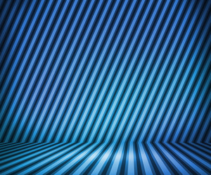 Blue Striped Background Show Room