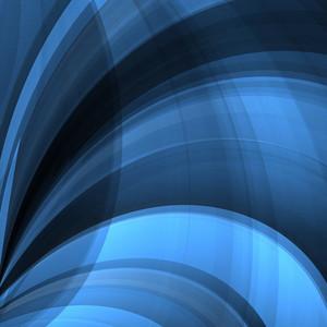 Blue Twist Lines