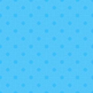 Blue Vintage Stary Pattern