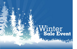 Blue Winter Sale