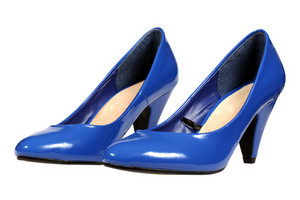 Blue Women's Heel Shoes