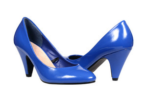 Blue Women's Heel Shoes