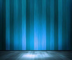 Blue Wooden Interior