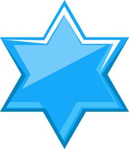Blue Xmas Star