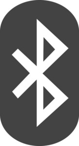 Bluetooth Glyph Icon