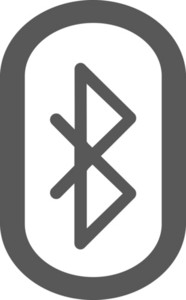 Bluetooth Stroke Icon