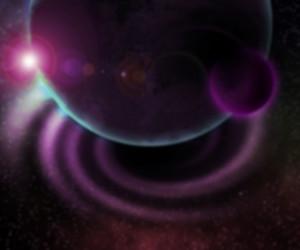 Blurry Cosmic Texture
