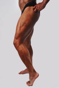 Body builder leg