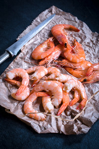 Boiled Tiger Shrimp