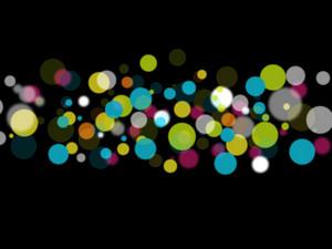 Bokeh Colorful Dots
