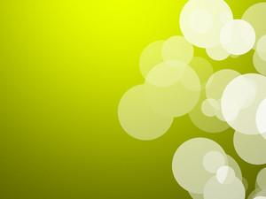 Bokeh Green Background