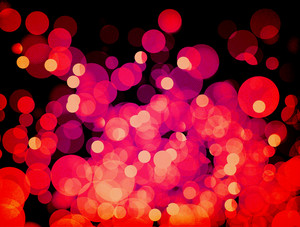 Bokeh Hot Background