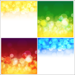 Bokeh Vector Backgrounds