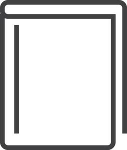 Book 1 Minimal Icon