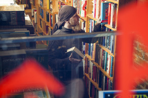 Book store owner