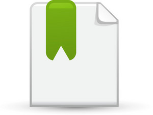 Bookmarked Document Lite Application Icon