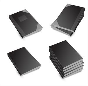 Books Stack Vectors