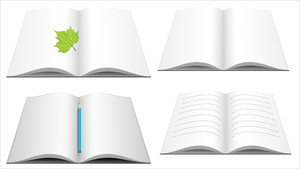 Books Vectors