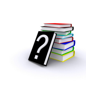 Books With Question Mark