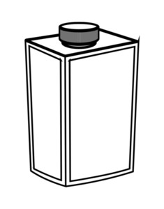Bottle Drawing Shape Vector