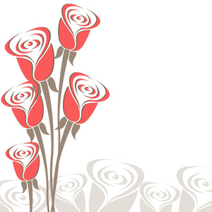 Bouquet Of Roses  For Love & Valentine's Day.