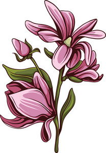 Bouquet Vector Element