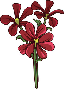 Bouquet Vector Element