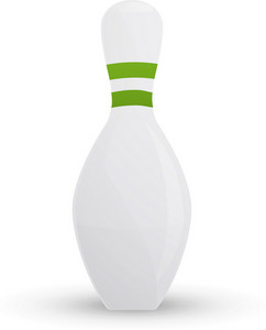 Bowling Pin Lite Sports Icon