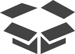 Box 2 Glyph Icon
