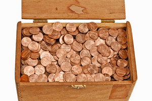Box Full of Pennies