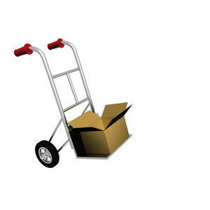 Box On Trolley
