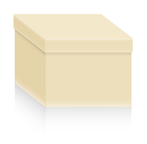 Box Shape Vector