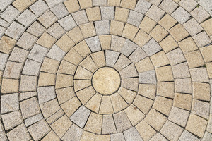 Brick Floor or wall background and texture