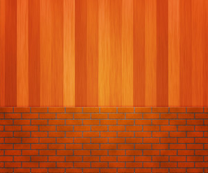 Brick Wooden Wall