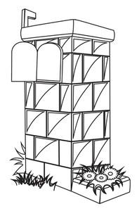Brickwall Letterbox