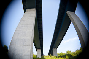 Bridge Over Kiel Canal